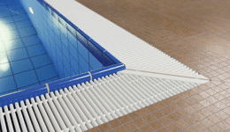 swimming pool grates